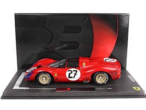BBR 1/18 - Ferrari 330 P3 Spider - Le Mans 1966 - BBRC1849A