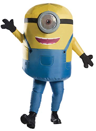 Rubie's Rise of Gru Inflatable Minion Costume, As Shown, One Size