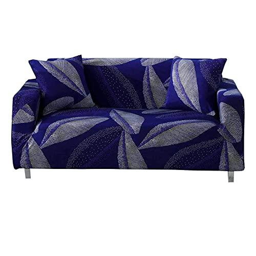 Bedruckter Sofabezug,hoher Stretch-Couchbezug mit elastischem Boden Universal-Anti-Rutsch-waschbar Anti-Kratz-Spandex-Stoff-Sofa-Bezug für Wohnzimmer-Haustiere-XL-Sofa-J
