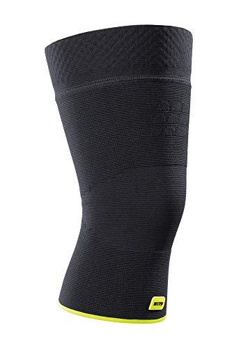 CEP - Knee Sleeve Unisex | Stützende Kniebandage für Stabilität beim Sport in schwarz/grün | Größe VII