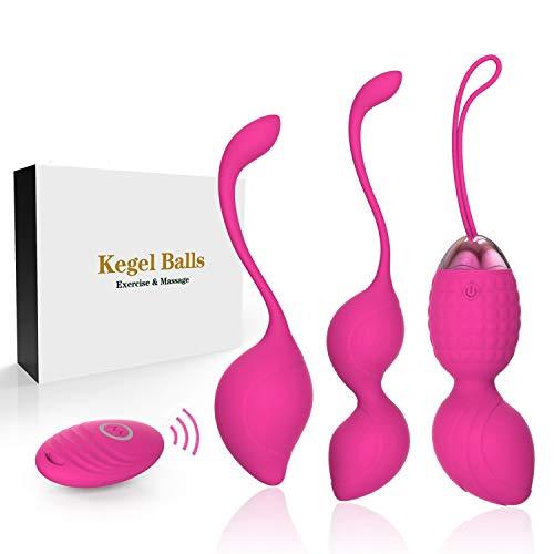 Bola china- bola de ejercicios 2 en 1 para principiantes, bola Kegel para apretar, recomendada por el médico para el control de la vejiga y el ejercicio del suelo pélvico