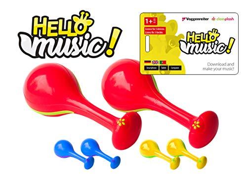 Hello Music! (App) mit Maracas