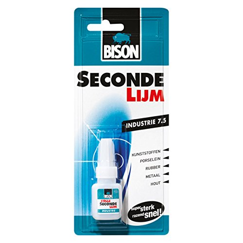 Bison 1820028 secondelijm 7,5 g