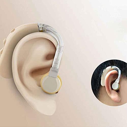 Hoge kwaliteit hoortoestellen Sound versterker for middelbare leeftijd en ouderen, geef 4 oordopjes, heldere geluidskwaliteit