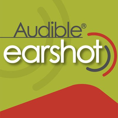 Audible Earshot audiobook cover art