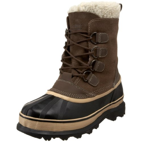 Northside Men's 910826M Back Country Waterproof Padded Sherpa Collar Pack Boot,Brown,8 M US