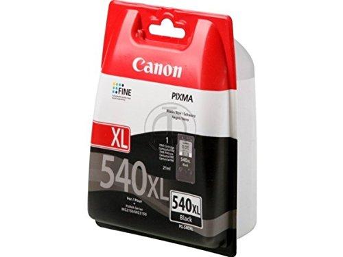 Canon PG540XL Tintenpatrone, hohe Kapazität, Schwarz