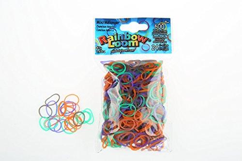 Elastiques Rainbow Loom Caméléon