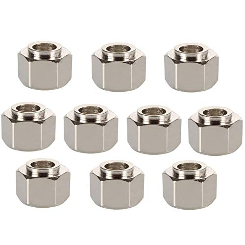 10pcs 5mm Eccentric Screw Nut Eccentric Spacer Apply V-Slot Rail V-Wheels for Reprap 3D Printer OX/Shapeoko CNC DIY Nut Parts 3D Printing Accessories (Color : 5x10x8.5mm) (Color : 5x8x9.5mm)