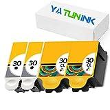 YATUNINK Compatible Ink Cartridge Replacement for Kodak 30XL for Kodak Hero 3.1 Hero 4.2 Hero 5.1 Hero 2.2 All in One Printer(2Black + 2Color)