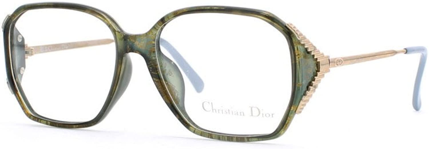 Christian Dior 2451A 50 Green Authentic Women Vintage Eyeglasses Frame