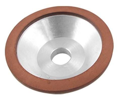 Preamer Resin Bonded Flaring Cup Diamond Grinding Wheel 100x32x20x10x3mm, 240 Grit