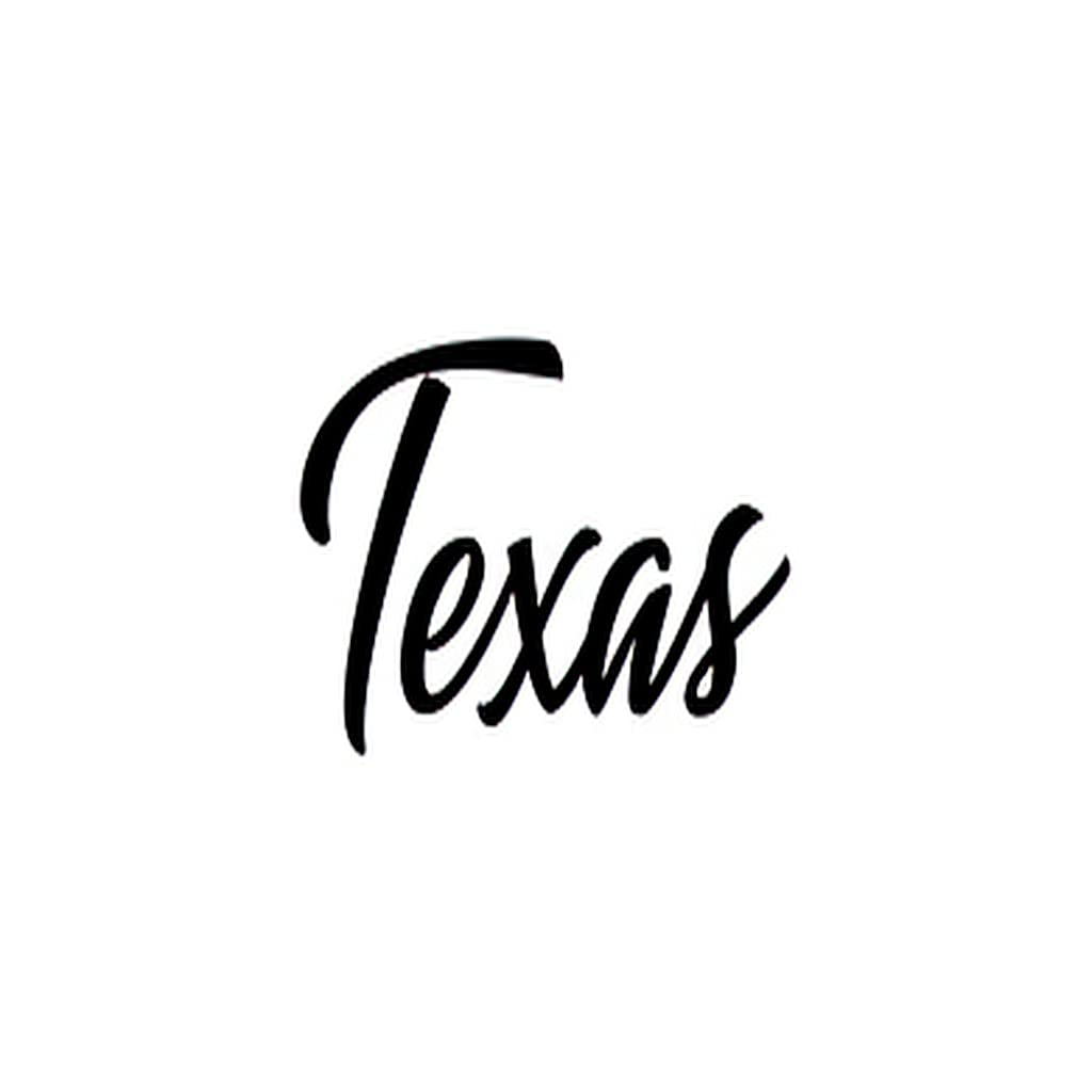Ranking TOP4 6 Sheets Temporary Tattoos as Calligraphy All stores are sold Texas Usable