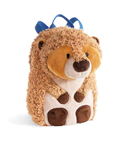 NICI 41916 Rucksack Forest Friends Biber Willi Woodfeller, braun
