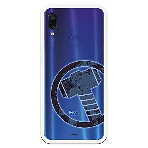 Funda para Xiaomi Redmi Note 7-Note 7 Pro Oficial de Marvel