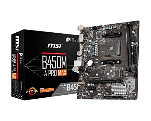 MB MSI B450M-A PRO MAX AMD RYZEN Gen3 (R5 R7 R9)