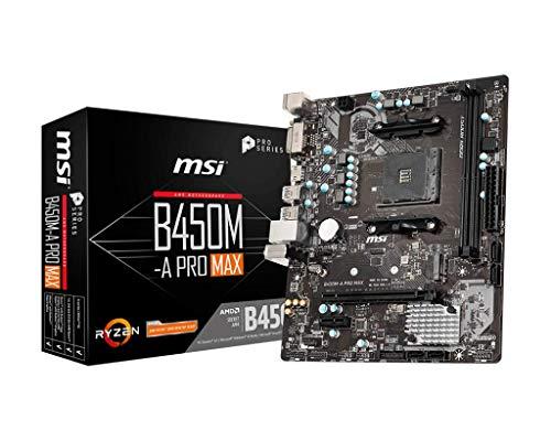 MSI B450M-A Pro MAX B450