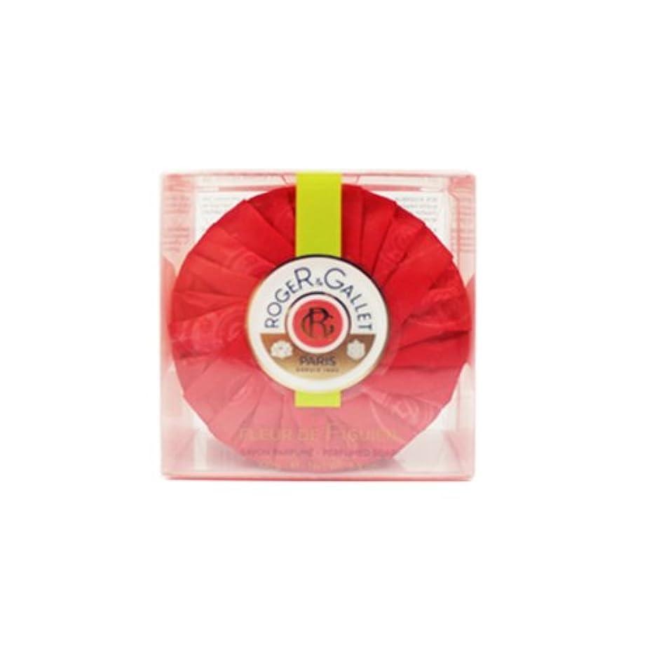 貞見通し信号ロジェガレ フィグパフューム ソープ (香水石鹸) 100g ROGER & GALLET Fleur de Figuier soap [並行輸入品]