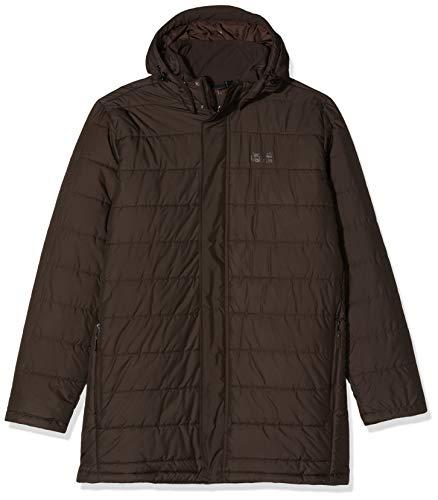 Jack Wolfskin Svalbard Mantel-1204501 Veste Homme Walnut FR : 3XL (Taille Fabricant : XXXL)