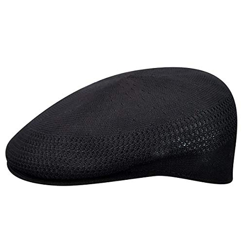 Kangol Herren Tropic Ventair 504 Schirmmütze, Schwarz, Medium