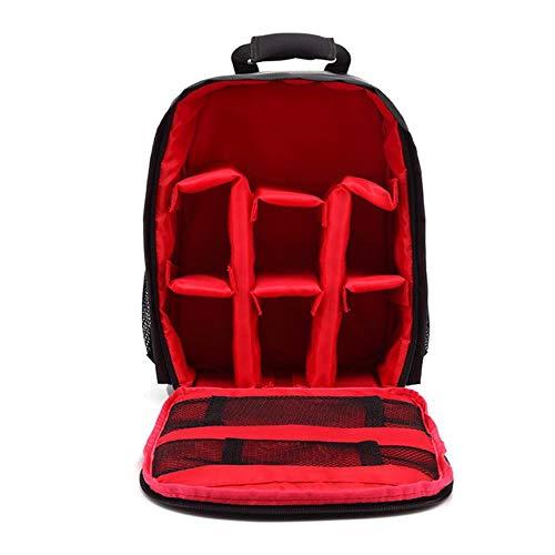 Camcoder Bag Digital DSLR Bag Wasserdichter, stoßfester, atmungsaktiver Kamerarucksack für Kameras Kleiner Videofoto-Kameratasche Rucksack