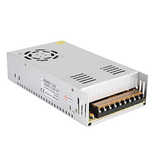 Redrex 24V 15A 360w DC Alimentatore Switching Regolato Universale Costruito con Ventola di Raffreddamento a Temperatura Controllata per TVCC, Radio, Progetto Computer, Stampante 3D, Driver LED