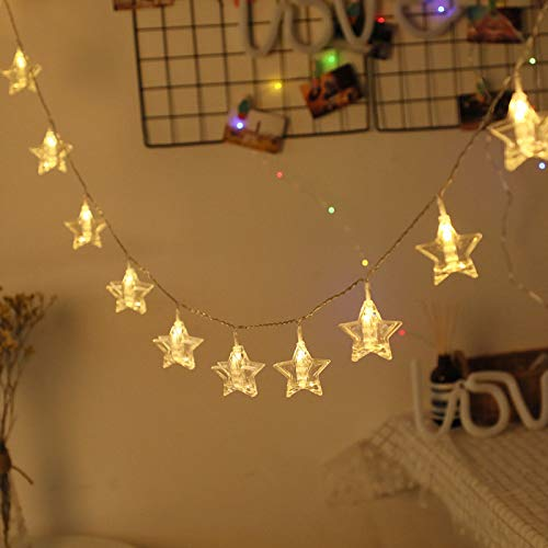Lushi Photo clip string lights, fairytale battery-powered lights, hanging photos, decorative frame lights