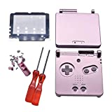 Meijunter Replacement Full Housing Shell Cover Case Repair Parts Set w/Lens&Screwdriver for Nintendo Gameboy Advance SP GBA SP Console