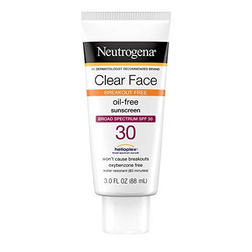 Neutrogena Clear Face Sunblock Lotion, SPF 30, 89 ml (Sonnenschutz)