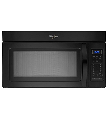 Whirlpool WMH31017FB 1.7 Cu. Ft. Over-The-Range, Combination Microwave Oven, Black, 1000 Watt