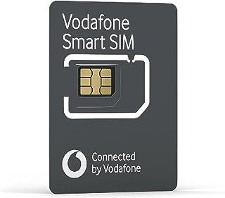 Vodafone Smart SIM, werkt met geselecteerde slimme apparaten zoals GPS-tracker, smart watches, LTE 4G-camera's, wildcamer...