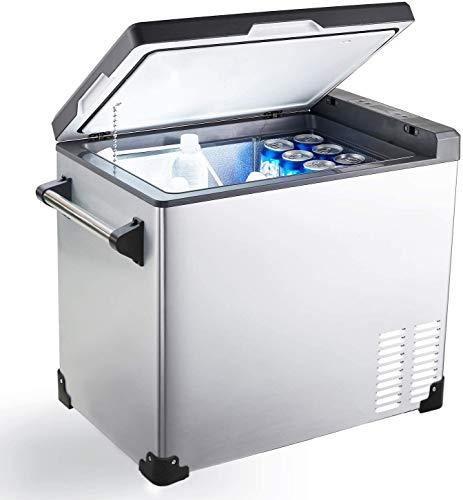 Cathville Portable Refrigerator Fridge Freezer for car, Boat, RV, Camping, Roadtrip, Outdoor Recreation (48-Quart)