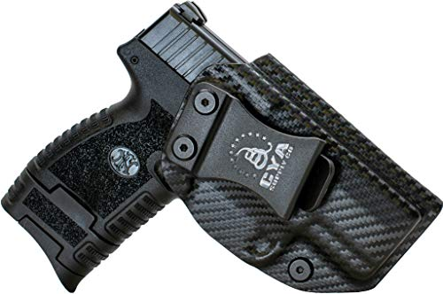 CYA Supply Co. Fits FN 503 Inside Waistband Holster Concealed Carry IWB Veteran Owned Company (Carbon Fiber, FN 503)