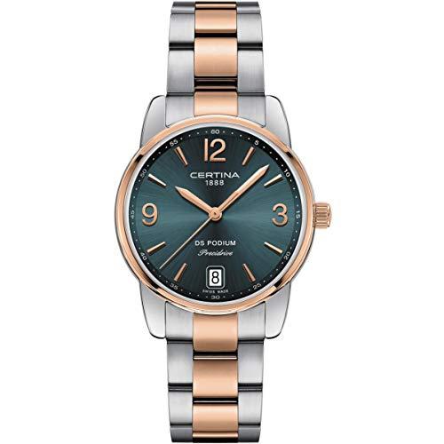 Certina DS Podium Reloj de Mujer Cuarzo 33mm C034.210.22.097.00