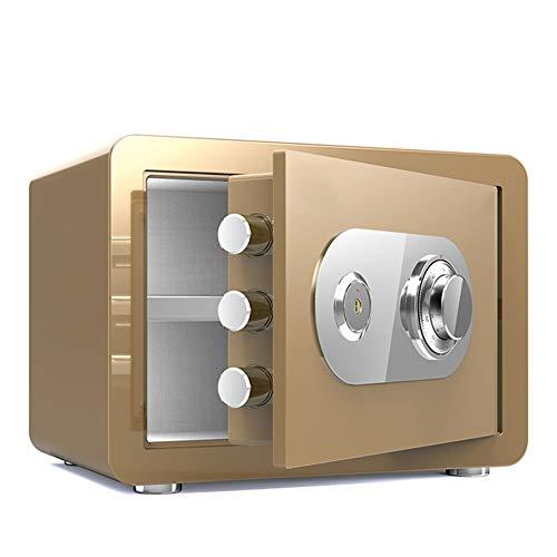 Cassaforte 30 centimetri Cassaforte, Sicuro di denaro, Combinazione di blocco di metallo Casseforti for la casa con la chiave della scatola for casa attaccatura di parete fisso a scomparsa sicuro Cabi