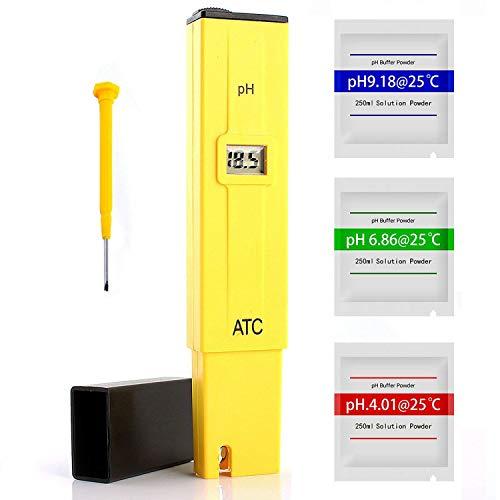 Digital PH Meter, Portable pH Tester, 0.01 High Accuracy Quality 0-14...