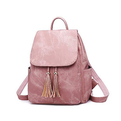 European and American fashion handbags trendy leather women's backpack fashion tassel backpack