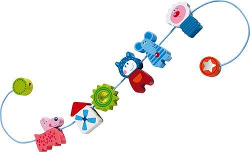 HABA 3635 Lollipop Chaîne de poussette pour enfant