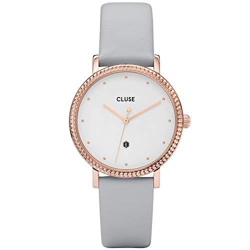 Cluse Reloj analógico para Mujeres de Cuarzo con Correa en Piel CL63001
