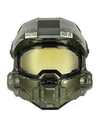 Halo réplique casque Master Chief Modular Motorcycle Helmet (M)