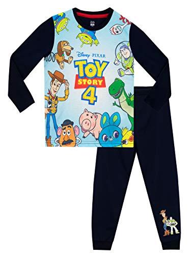 Disney Jungen Toy Story Schlafanzug Blau 128