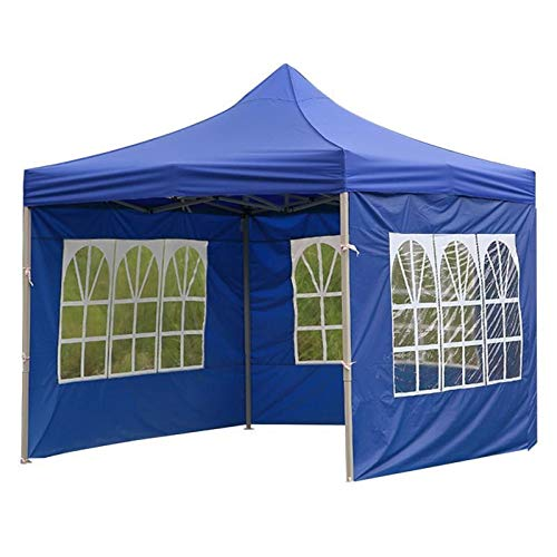 weichuang Tienda al Aire Libre Carpa Camping al Aire Libre Accesorios for Paneles Gazebo Lateral del flanco Duradero Anti-UV Tela Oxford Tienda (Color : Blue 2)