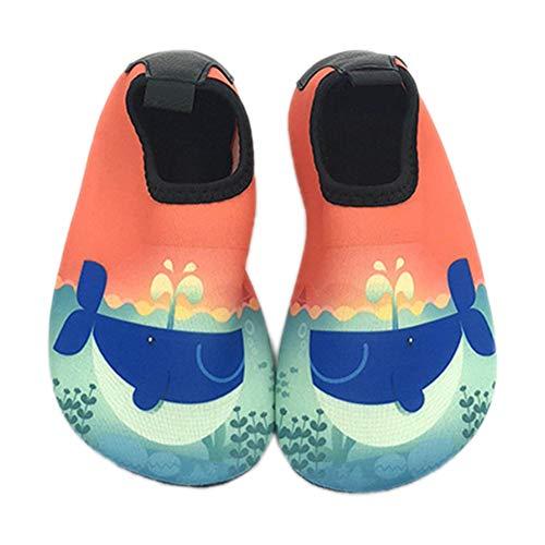 Demarkt Badeschuhe Kleinkind Schuhe Schwimmen Wasser Schuhe Kinder Barefoot Aqua Schuhe für Jungen Mädchen