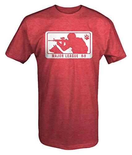 Major League K-9 Shooting Tactical Black Ops T Shirt