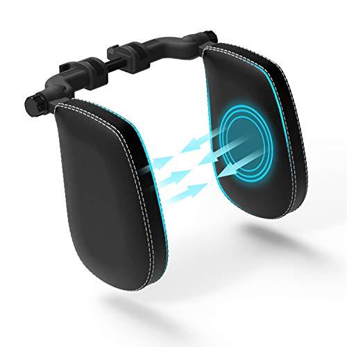 FLIPLINE Kopfstütze Auto Kinder [SuperSleep] Bequemes Reisefeeling für Kinder & Erwachsene - schnelle Installation in 2 Minuten ohne Schraubenzieher - Nackenstütze Nackenkissen Autokissen