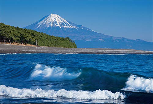 【Amazon.co.jp 限定】三保の松原と富士山 ポストカード3枚セット P3-097