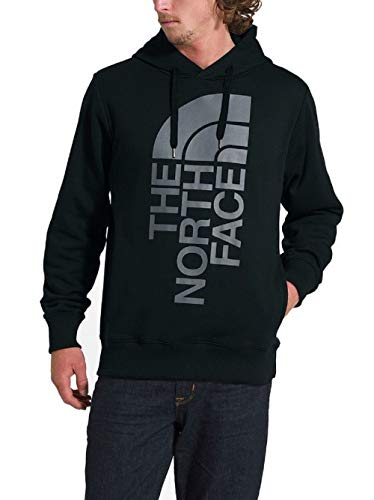 The North Face Men's Trivert Patch Pullover Hoodie (Large) Black