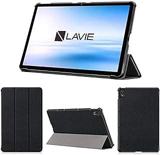 wisers 保護フィルム付き LAVIE T11 T1195/BAS PC-T1195BAS ケース カバー 11.5インチ NEC 超薄型 スリム 専用 タブレットケース [2021 年 新型] ブラック
