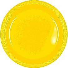 Sunshine Yellow 10 5 Plastic Plates