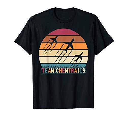 Chemtrail Team - Verschwörung Aluhut Science T-Shirt